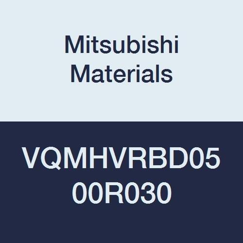 Medium Flute 0.3 mm Corner Radius Irregular Helix Flute Mitsubishi Materials VQMHVRBD0500R030 Series VQMHVRB Carbide Smart Miracle End Mill 5 mm Cut Dia 13 mm LOC 4 Flute
