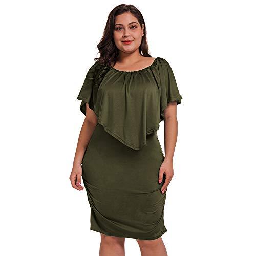 Off Shoulder Plus Size Dress