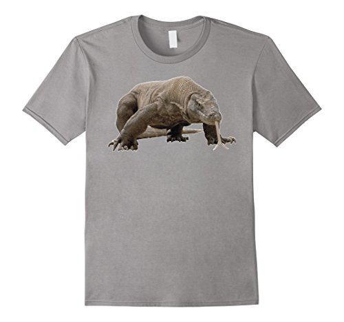 Men's Komodo dragon T Shirt Tshirt for men women boys girls kids Small Slate