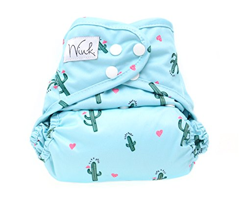 Wink Organic Bamboo All In One Cloth Diaper