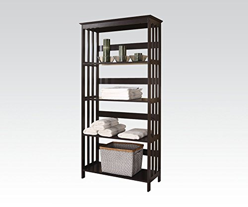 Brand New Opeli 30''x12''x60''H Espresso Finish Bathroom Rack