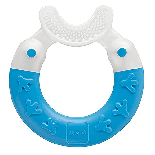 Mam Care - MAM Baby Toys, Teething Toys, Bite & Brush Teether, Boy, 3+ Months, 1-Count