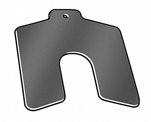 (Precision Brand PVC Slotted Shim with Tab, 0.0005