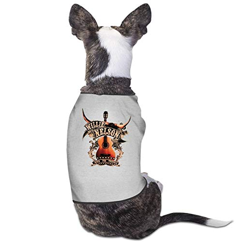 JDFSHQ Willie Nelson Lovely Pet Clothes for Most Cats and Dogs