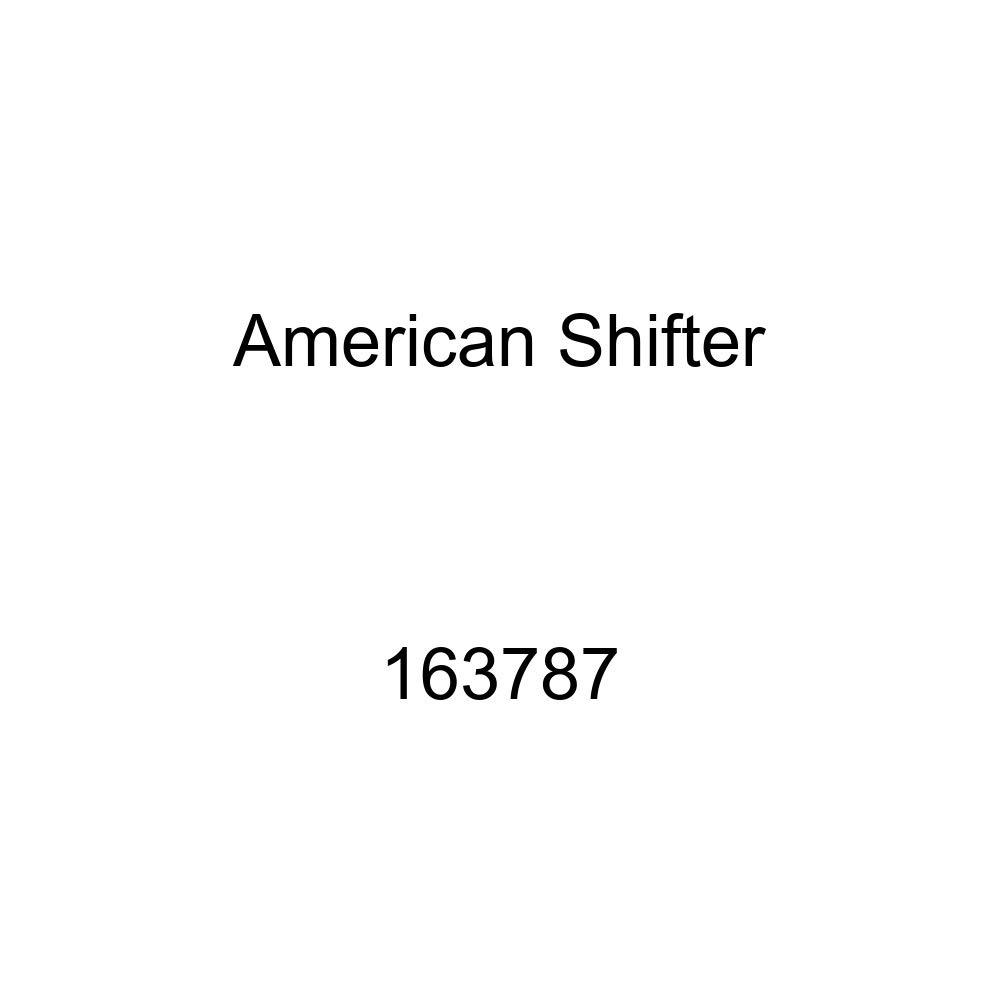 American Shifter 116442 Red Stripe Shift Knob with M16 x 1.5 Insert Orange Spiral Petals