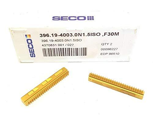 Seco 396.19-4003.0N 1.5ISO Hartmetall-Einsätze, F30M, VB5, 2 Stück