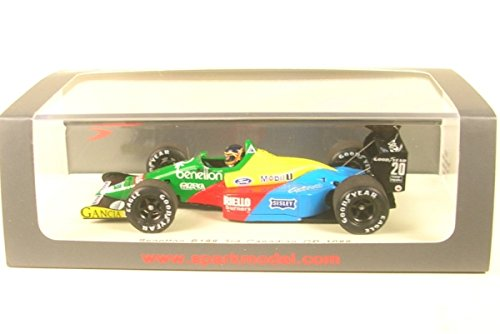 Spark - B and O - B188 1988 - GP Canada Car Collectible, S5202, Green/Yellow/Blue/Red