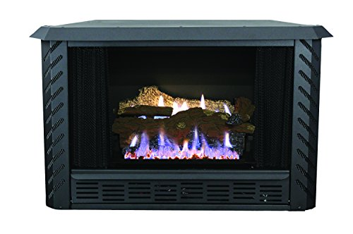 Clearance Gas Fireplaces Zero (Ashley AGVF340N Vent-Free Natural Gas Firebox, 34000 BTU)