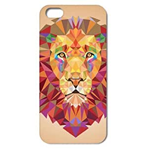 [S Series] Powerful Colorful Lion Style Case for IPhone 5 5S