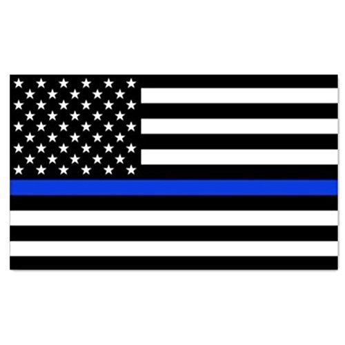 AIKEN 3x5 Foot Thin Blue Line USA Flag Heavy Duty Police Ame
