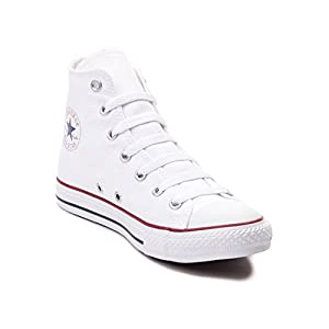 Converse Chuck Taylor All Star Classic High Top Sneakers - White Converse: US Men 6.5 / US Women 8.5