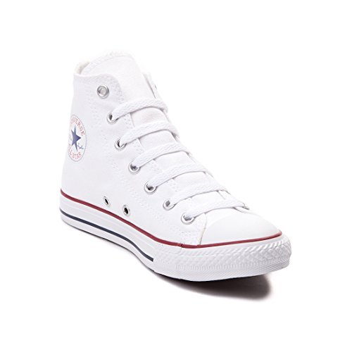 Womens High Top - Converse Chuck Taylor All Star Classic High Top Sneakers - White US Men 6.5/US Women 8.5