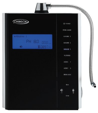 Chanson Miracle M.a.x. Water Ionizer (7-overlay, Convertible Counter-top)