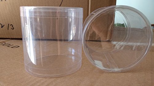 Container Clear PVC Cylinder 3