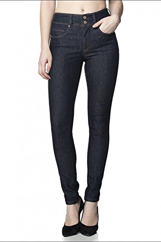 Skinny Salsa L32 Jeans 30 Secret Push In Bleu aqTq4z