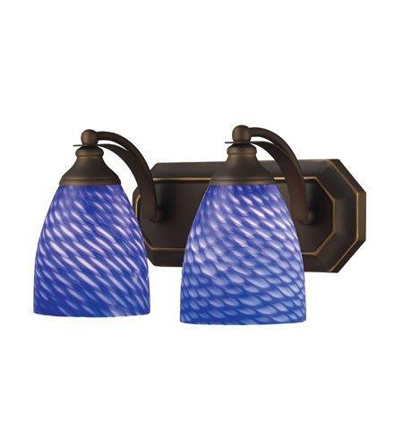 Pendants 1 Light with Dark Bronze Finish Candelabra 5 inch 60 Watts - World of Lamp