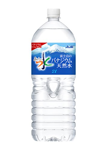 Asahi delicious water Fuji of vanadium natural water 2000mlX6 this by Vanadium natural water