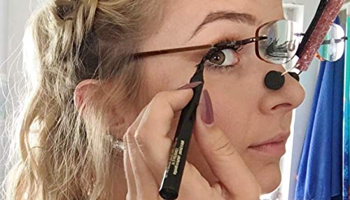 - SpecsUp - Must Have Makeup Tool for Ladies with Glasses. Apply Eye Makeup Wearing Your Own Glasses!