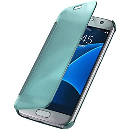 START New Luxury Mirror Slim Case Cover For Samsung Galaxy S7 edge (Blue) Sales