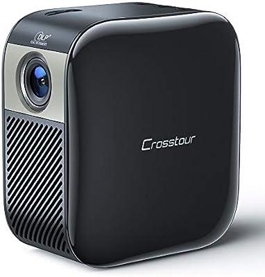 Mini proyector portátil de Crosstour, proyector DLP para ...