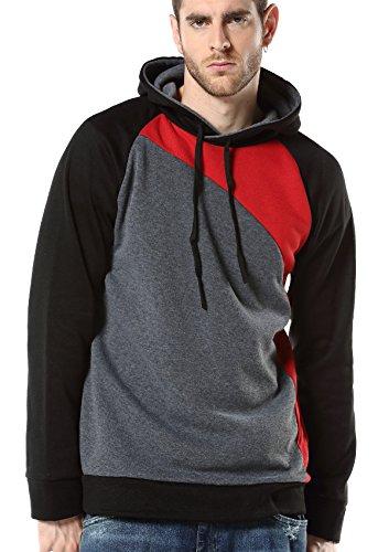 MINSNOWLER+Mens+Hoodies+Pullover+Jacket+Mens+Slim+Fit+Hoodies+Coat+Hooded+mens+Hoodies+hoodies+zip+Tag+XL+Color+F+%28UK+M%29