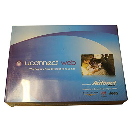 Genuine Chrysler Accessories 82211856AC Uconnect Wi-Fi from Chrysler