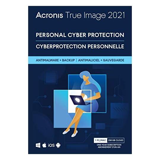 Acronis True Image 2021 Advanced PC/Mac 1 Year Box-Version