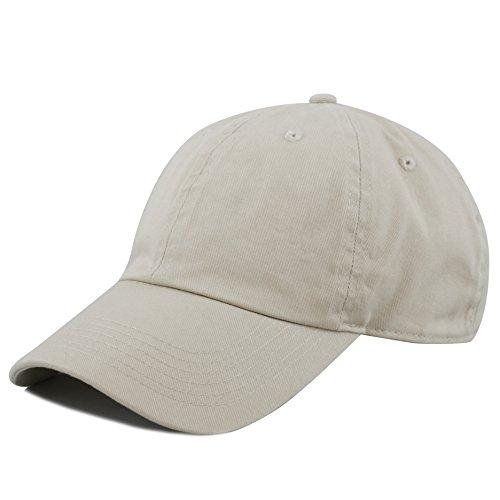 Beige Baseball Hat - 2