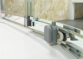 Cabina de ducha Cuarto circular (80 x 80 cm, mampara de ducha ...