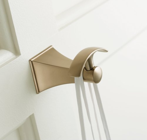 KOHLER K-492-BV Memoirs Robe Hook with Stately Design, Vibrant Brushed Bronze by Kohler (Image #1)