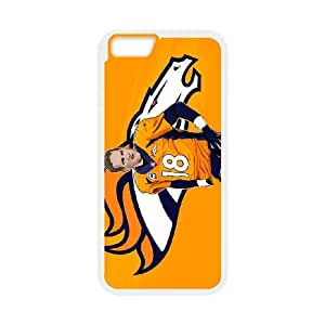 Denver Broncos iPhone 6 4.7 Inch Cell Phone Case White persent zhm004_8549372