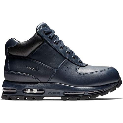 Nike Mens ACG Air Max Goadome Leather Boots Obsidian Blue/Black BQ3461-400 Size 9