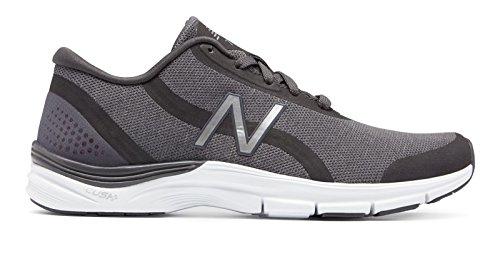 機知に富んだバンジージャンプクライアント(ニューバランス) New Balance 靴?シューズ レディーストレーニング 711v3 Heathered Trainer Charcoal with Silver チャコール シルバー US 9.5 (26.5cm)