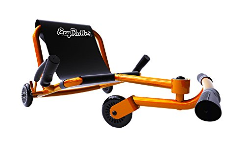 EzyRoller Ride On Toy - New Twist On A Classic Scooter - Orange