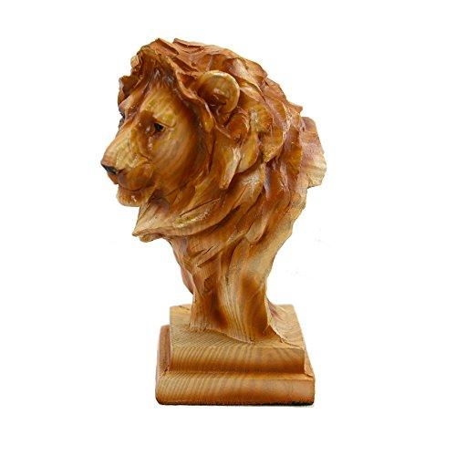 (African Wildlife Safari Collection Male Lion Head)