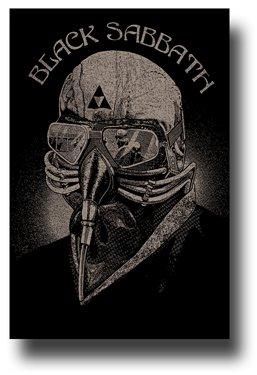 Black Sabbath Poster - 13 World Tour Promo Flyer with Ozzy 11 x 17 Admat ()