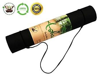 Amazon.com : The BEST Yoga Mat ASHRAM 100% Sustainable-Eco ...