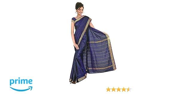 Trendofindia Indian Bollywood Sari Arco Iris Azul: Amazon.es: Ropa y accesorios