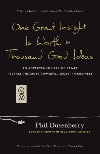 One Great Insight Is Worth a Thousand Good Ideas: An...