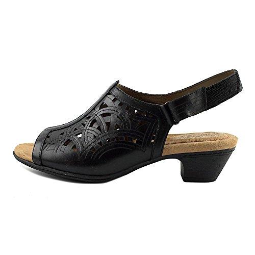 Rockport Cobb Hill Collection Abbott Dames Sandaal Zwart