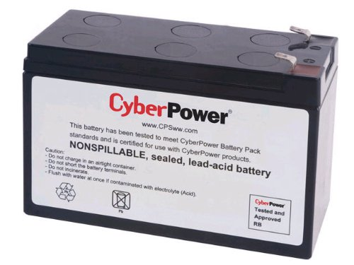 CyberPower RB1270 12V 7AH UPS Replacement Battery Cartridge