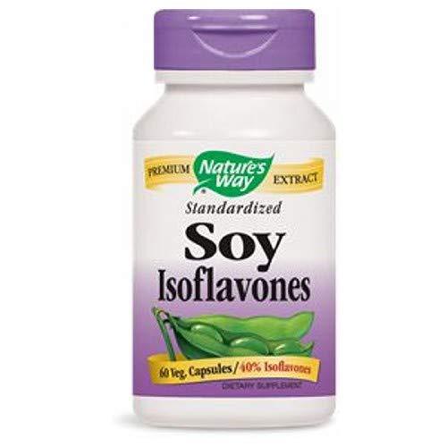 (Natures Way Soy Isoflavones Standardized Capsule - 60 per pack - 3 packs per case.)