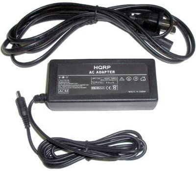 HQRP AC Adapter Charger for Samsung SC-HMX20C Power Supply Cord SC-MX20 Camcorder SC-MX10C Euro Plug Adapter SC-MX10R SC-MX10