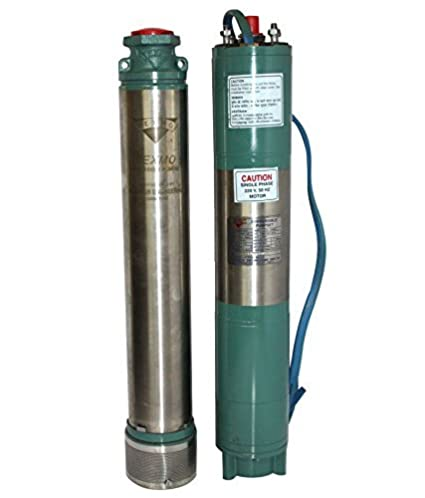TEXMO Single Phase Submersible Pump 1 H P 08 Stage for 100mm