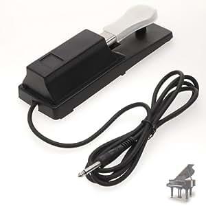 Pedal de Sostenido para Piano Digital/Teclado Eléctrico modelo FS-01: Amazon.es: Hogar