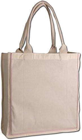 Fancy Shopper Tote Bag 1, Black