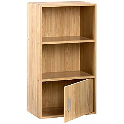 Amazon Com Best Care Llc Sturdy Wood Open Shelves Bookshelf