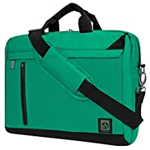Vangoddy ADLER MESSENGER BAG School College Laptop Computer Backpack Lightweight Fits 13-Inch 14-Inch 15.6 Notebook 11 Inch 12 Inch Tablet Bag, Jade Green