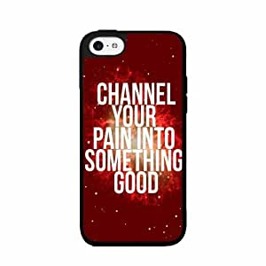 Channel Your Pain Into Something Good Plastic Fashion Phone Case Back Cover iPhone 4 4s