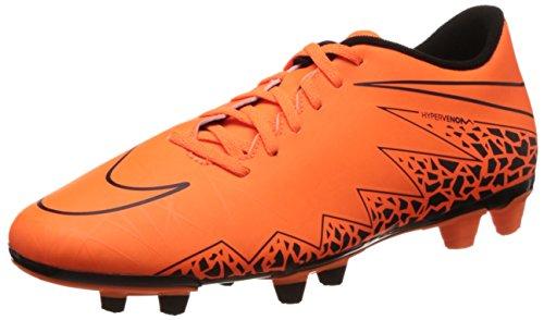 Nike Zapatillas de fútbol para hombre Hyper Venom Phade II FG, - naranja, 45 - Naranja